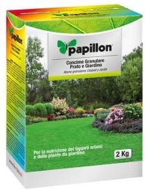 Concime granulare per prato e giardino Papillon
