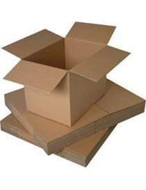 cartone (100pz) per imballaggio doppia onda 45X25X25CM