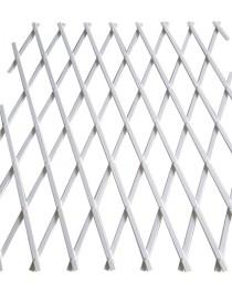 TRALICCIO ESTENSIBILE PVC 2X1MT BIANCO