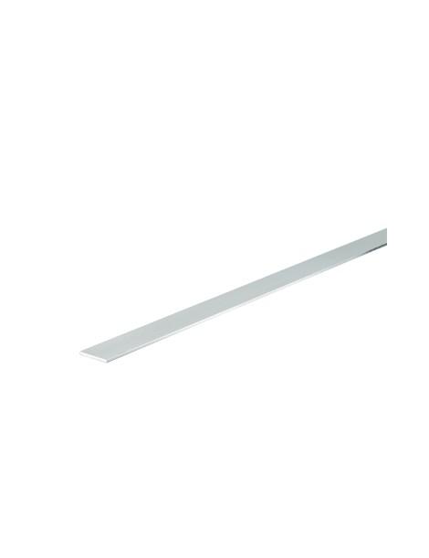 Profilo in alluminio piatto 25mm