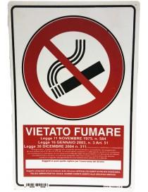 """CARTELLO SEGNALETICO """"VIETATO FUMARE"""""""
